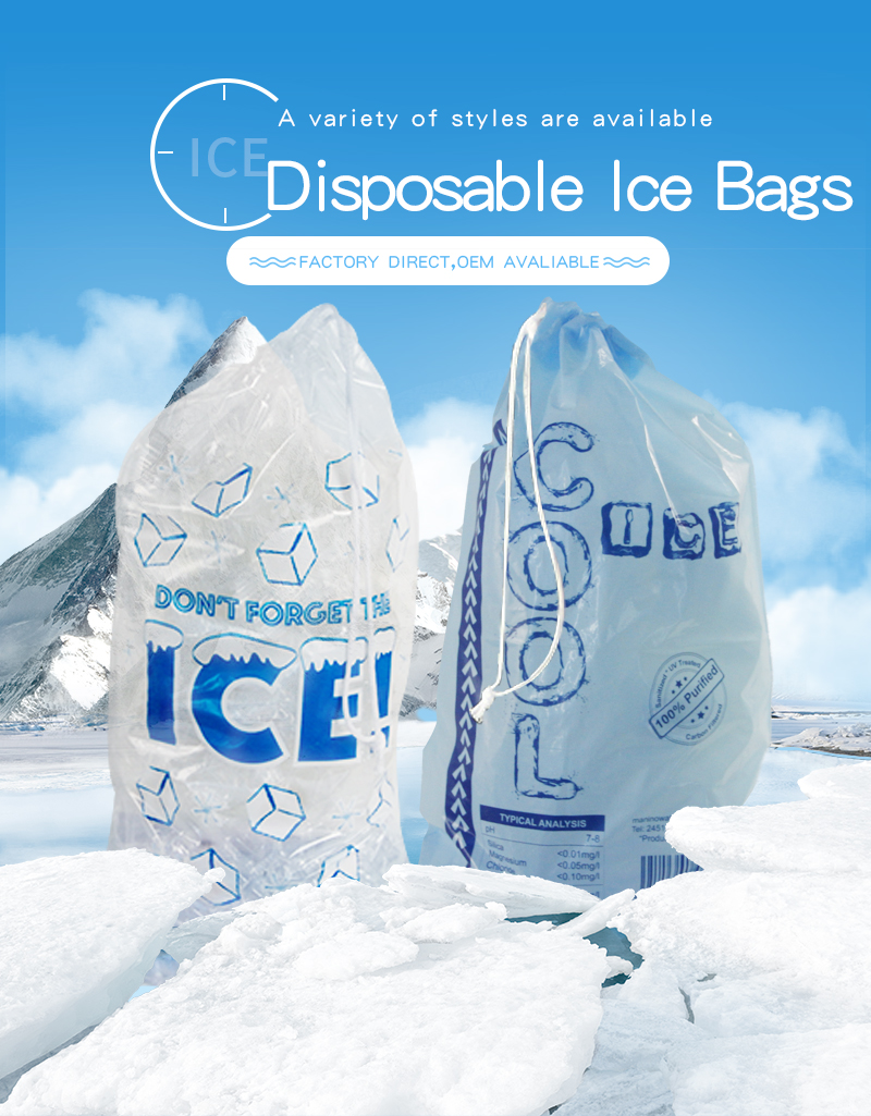 disposable ice bag
