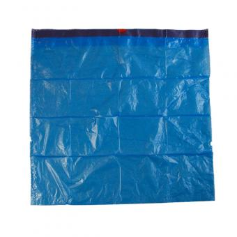 Compostable garbage bag with drawstring