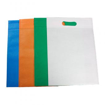 non woven d cut handle bag