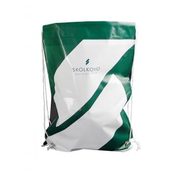 plastic drawstring shopping bag