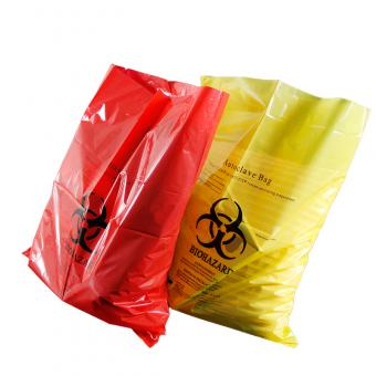 biohazard medical garbage bag