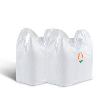Biodegradable Plastic PLA T Shirt Shopping Bag