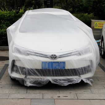 disposable pe car cover