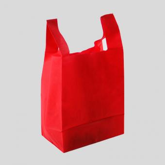 reusable non-woven t shirt bag