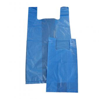 plastic t shirt bag with printing