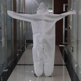 disposable protective body suit