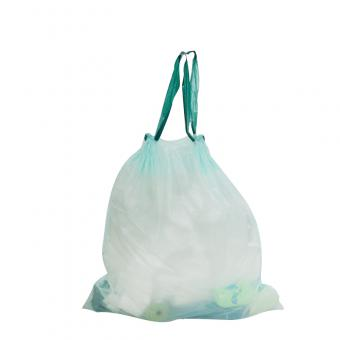 Biodegradable Garbage Bag With Drawstring