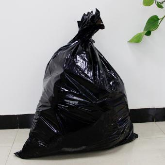 Black thicken plastic garbage bag