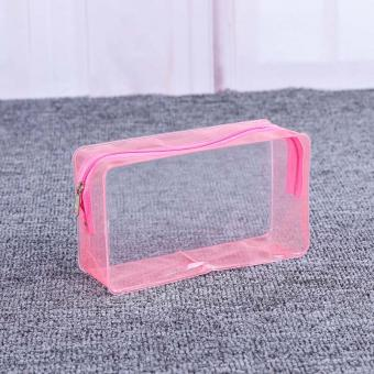 transparent PVC slider bag